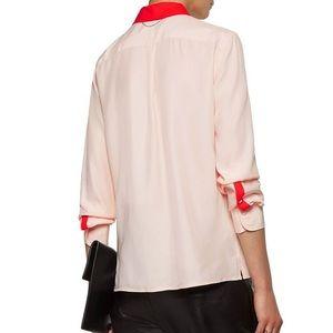 Rag & Bone Poppy two-tone silk shirt